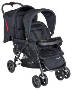 Safety 1st Duodeal Geschwister-/Zwillingskinderwagen, kompakt zusammenfaltbar